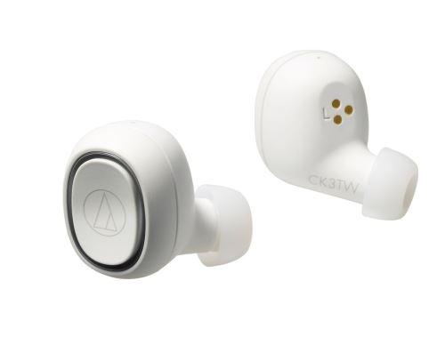 Ecouteurs sans fil True Wireless Audio-Technica ATH-CK3TW Blanc