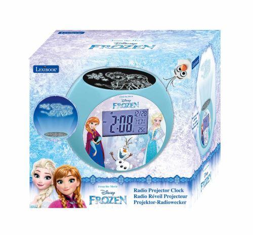 Réveil projecteur Lexibook Disney Frozen La Reine des Neiges RL975FZ