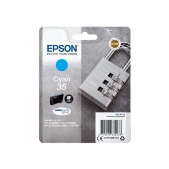 Epson 35 - cyaan - origineel - inktcartridge