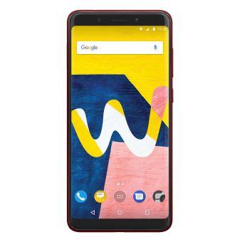 Smartphone Wiko View Lite Double SIM 16 Go Rouge