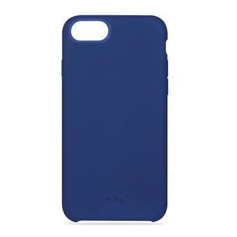 Coque souple bleu Puro Icon pour iPhone 6/6s/7/8/SE 2020