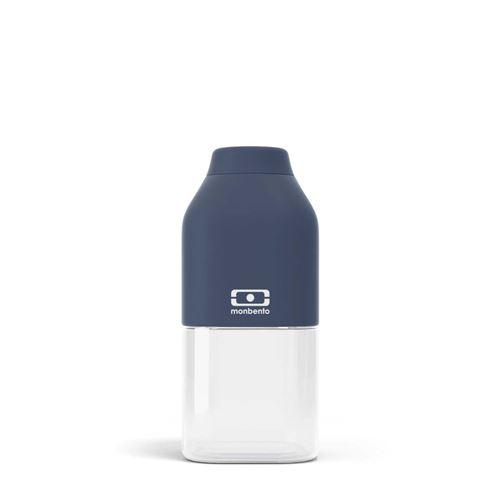 Bouteille de forme carrée Monbento Positive S Bleu Infinity