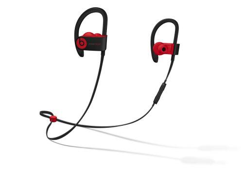 Écouteurs Powerbeats3 sans fil  La collection Décennie de Beats, Defiant Noir-Rouge