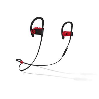 Écouteurs Powerbeats3 sans fil – La collection Décennie de Beats, Defiant Noir-Rouge
