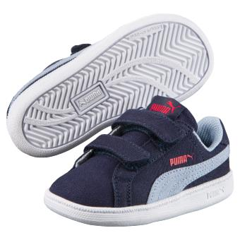 2aa5c942735 Chaussures Enfant Puma Smach Fun Bleu marine Taille 24 - Chaussures ...