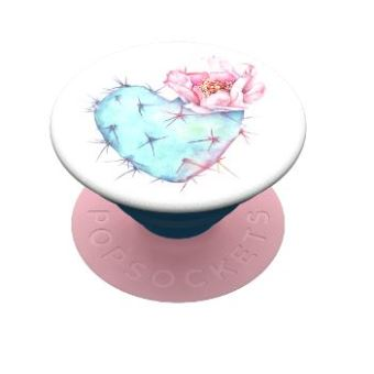 Grip PopSockets Succulent Heart Bleu et Rose