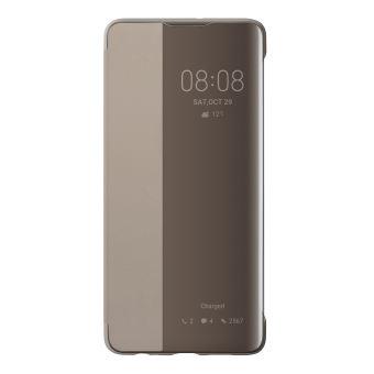 Huawei P30 View Flip Cover Khaki