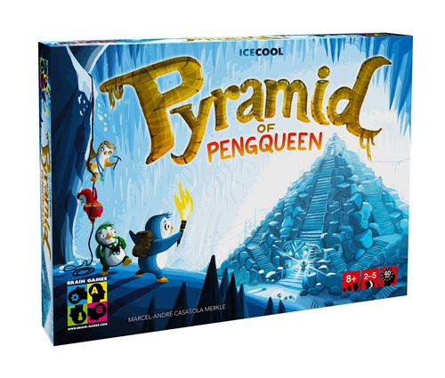 Jeu de déduction Brain Games Pyramid of Penqueen