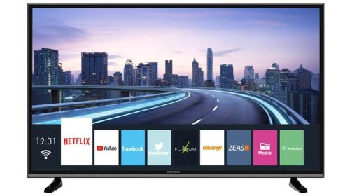 "123 cm (49""), TV Ultra HD HDR, Tuner TNT HD"