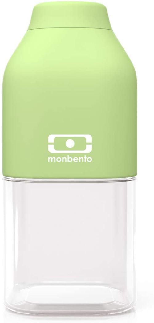 Bouteille de forme carrée Monbento Positive S Vert Apple