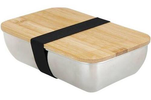 Lunch Box en inox Cooky Mo bamboo