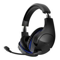 HyperX Cloud Stinger - Koptelefoon - over oor - 2,4 GHz - draadloos - zwart