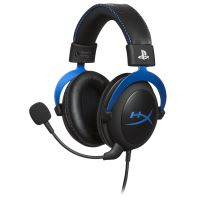 HyperX Cloud - PlayStation Official Licensed for PS4 - koptelefoon - over oor - met bekabeling - 3,5 mm-stekker - voor Sony PlayStation 4, Sony PlayStation 4 Pro, Sony PlayStation 4 Slim