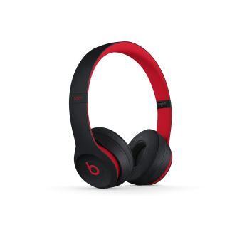 Casque Beats Solo3 sans fil – La collection Décennie de Beats, Defiant Noir-Rouge
