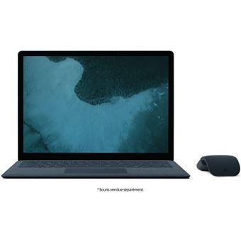 "PC Ultra-Portable Microsoft Surface Laptop 2 13.5"" Tactile Intel Core i5 8 Go RAM 256 Go SSD Bleu"