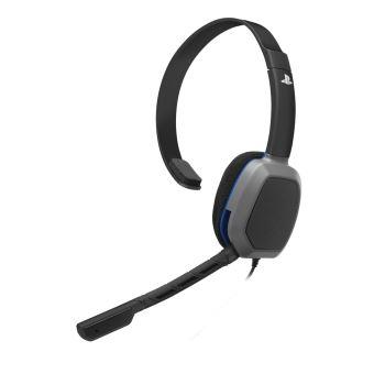 Micro-casque Gaming PDP Afterglow LVL 1 Noir Licencié Sony pour PS4