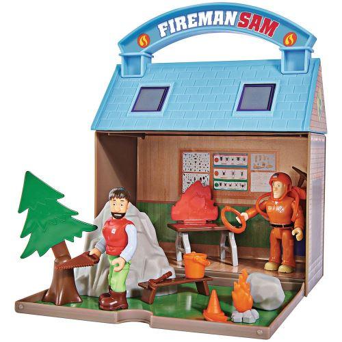 Playset Simba Sam le pompier Montagne avec figurines