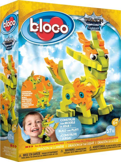 Kit créatif Dragon de lumière Bloco