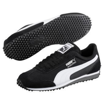 Chaussures Puma Whirlwind Noires et Blanches Taille 42