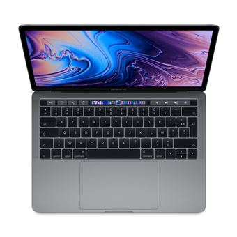 Apple MacBook Pro 13.3'' Touch Bar 512 Go SSD 8 Go RAM Intel Core i5 quadricœur à 2.3 GHz Gris sidéral Nouveau