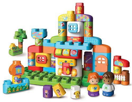 Jeu de construction Vtech Ma maison alphabet interactive