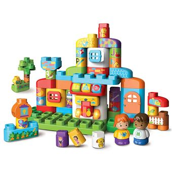 jeu de construction vtech ma maison alphabet interactive jouet multim dia achat prix fnac. Black Bedroom Furniture Sets. Home Design Ideas