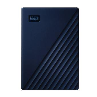 Disque dur Externe Western Digital My Passport for Mac 5 To Bleu foncé