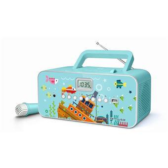 Radio Lecteur CD Muse M-29 KB avec Port USB et Microphone