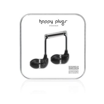 Happy Plugs Saint Laurent Coque pour Apple iPhone 7 Noir