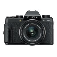 Kit Hybride Fujifilm X-T100 Noir + Objectif XC 15-45 mm f/3.5-5.6 OIS PZ + Objectif XC 50-230 mm f/4.5-6.7 OIS II Noir
