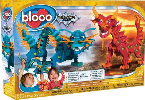 Jeu de construction Bloco Aqua et Pyro Dragons