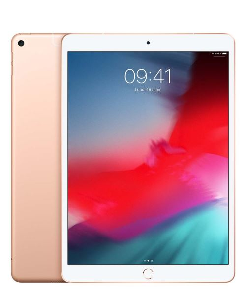 Nouvel iPad Air Apple 64 Go WiFi + 4G Or 10.5 2019