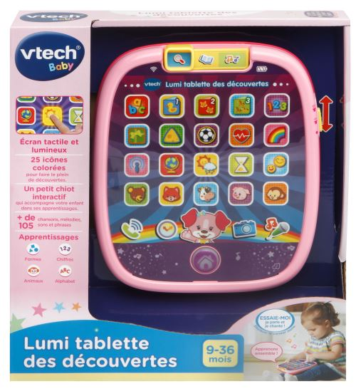 Tablette Lumi Vtech Baby Rose