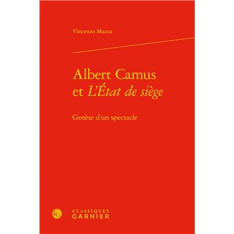 Albert Camus et l'état de siège