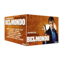 Coffret Jean-Paul Belmondo L'Essentiel 15 Films DVD