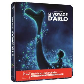 Le Voyage d'Arlo Edition spéciale Fnac Steelbook Blu-ray + DVD