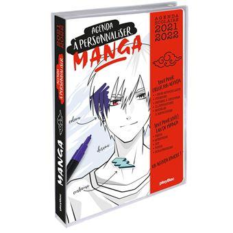 Calendrier 2022 à Personnaliser Agenda Manga 2021 2022 à personnaliser   broché   Collectif