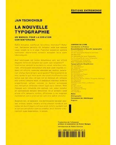 La nouvelle typographie