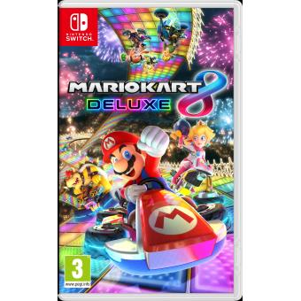mario kart 8 deluxe nintendo switch jeux vid o achat prix fnac. Black Bedroom Furniture Sets. Home Design Ideas