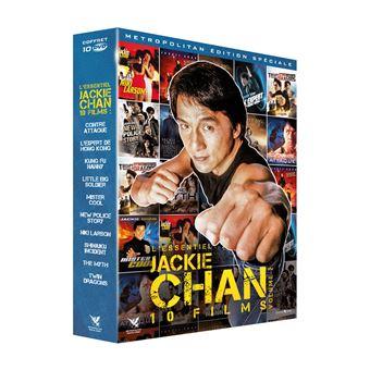 Coffret Jackie Chan L'Essentiel numéro 2 10 Films DVD