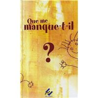 Que me manque-t-il ? Cycle 1