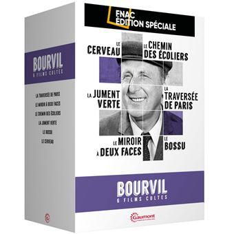 Coffret Bourvil 6 Films Cultes Edition Spéciale Fnac DVD
