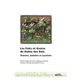 Les faits et gestes de robin des bois poemes ballades et s