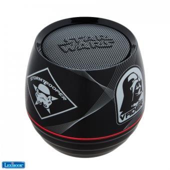 Mini enceinte Bluetooth Lexibook Star Wars Noir