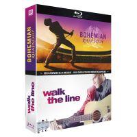 Coffret Bohemian Rhapsody et Walk the Line Blu-ray