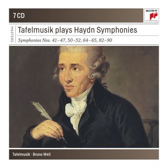 TAFELMUSIK PLAYS HAYDN/7CD