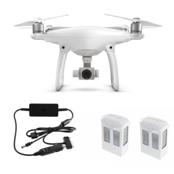 pack dji drone phantom 4 2 batteries chargeur voiture drone photo vid o fnac. Black Bedroom Furniture Sets. Home Design Ideas