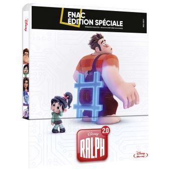 RalphRalph 2.0 Steelbook Edition Spéciale Fnac Blu-ray