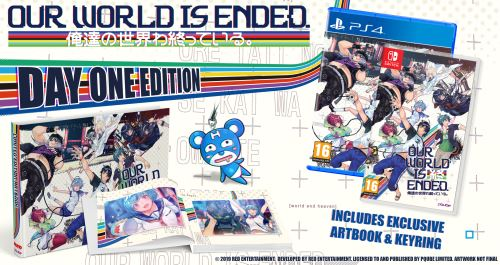 Our world is ended Edition Day One Nintendo Switch