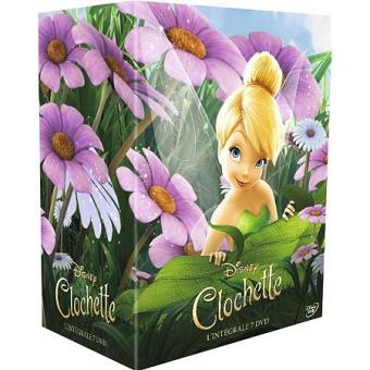 Image De Fée Clochette coffret la fée clochette intégrale dvd - dvd zone 2 - achat & prix